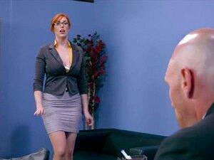 Große Titten Büro Sekretärin
