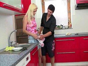 Ficken Mama Freund Küche
