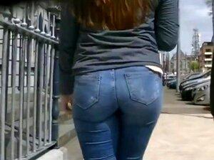 Ärsche jeans geile in Enge Jeans