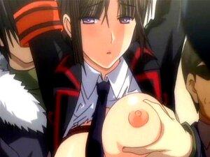Anime Riesin Große Titten