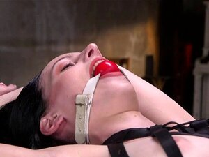 Adriana Chechik wird mit 8 Ball in ihrem Rektum in den Arsch gefickt