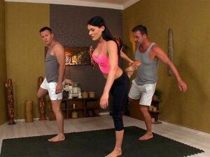 Yoga Hose Fick Flotter Dreier