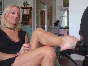 Janet Mason Füße Anbetung