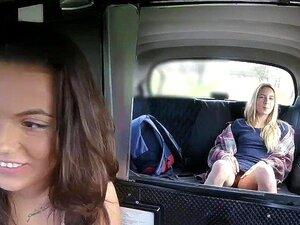 Taxi Lesbisch Fake Tschechisch Weiblich Taxi Lesbisch