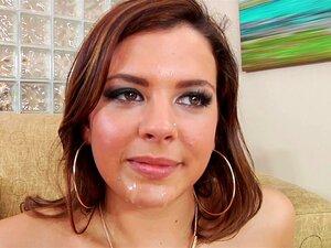 Juicy Keisha Grey bekommt ihre behaarte Muschi schön gefickt und mit Sperma gefüllt