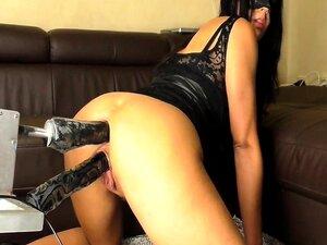 Mädchen Squirting Fick Maschine