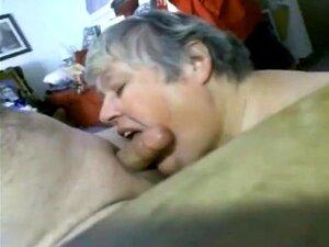 Oma will sperma schlucken
