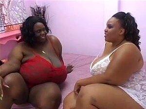 Mädchen Lesbische fette schwarze Heiße Fette